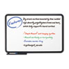 Iceberg Ingenuity Dry Erase Board, Resin Frame with Tray, 36 x 24, Black