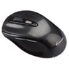 Innovera® Wireless Optical Mouse with Micro USB, 2.4 GHz Frequency/32 ft Wireless Range, Left/Right Hand Use, Gray/Black