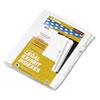 Kleer-Fax® 80000 Series Legal Index Dividers, Side Tab, Printed