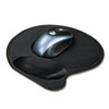 Kensington® Extra-Cushioned Mouse Wrist Pillow Pad, Black