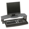 Kensington® Comfort Desktop Keyboard Drawer With SmartFit, 26w x 13-1/2d, Black/Gray