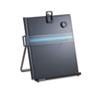Kensington® Letter-Size Freestanding Desktop Copyholder, Stainless Steel, Black