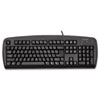 Kensington® Comfort Type USB Keyboard, 104 Keys, Black