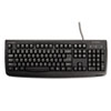 Kensington® Pro Fit USB Washable Keyboard, 104 Keys, Black