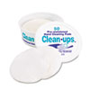 LEE Clean-Ups Hand Cleaning Pads, Cloth, 3 x 3, White, 50/Pack