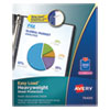 Avery® Top-Load Poly Sheet Protectors, Heavy, Letter, Diamond Clear, 200/Box