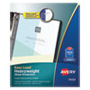Avery® Top-Load Poly Sheet Protectors, Heavy Gauge, Letter, Nonglare, 100/Box