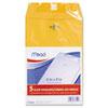 Mead® Clasp Envelope, 6 x 9, 24lb, Kraft, 5/Pack