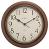 Howard Miller® Talon Wall Clock, 15-1/4in, Cherry
