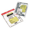 MMF Industries™ Tamper-Evident Deposit/Cash Bags, Plastic, 12 x 16, Clear, 100 Bags/Box