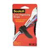 Scotch® Cord Management Bundling Straps, 8