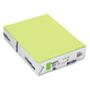 Mohawk BriteHue Multipurpose Colored Paper, 20lb, 8-1/2 x 11, Ultra Lime, 500 Shts/Rm