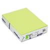 Mohawk BriteHue Multipurpose Colored Paper, 20lb, 8 1/2 x 11, Ultra Lime, 500 Shts/Rm