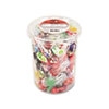 Office Snax® Top o' the Line Pops, Candy, 3.5lb Tub