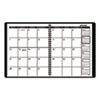 AT-A-GLANCE® Monthly Planner, Black, 6 7/8