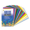 Pacon® Fadeless Assorted Paper, 50 lbs., 12 x 18, 60 Sheets/Pack