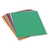 SunWorks® Construction Paper, 58 lbs., 24 x 36, Assorted, 50 Sheets/Pack