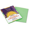 SunWorks® Construction Paper, 58 lbs., 9 x 12, Light Green, 50 Sheets/Pack