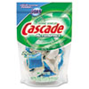Cascade® ActionPacs, Fresh Scent, Blue, 12.7oz Reclosable Bag, 20/Bag, 5 Bags/Carton