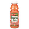 Tropicana 100% Juice, Ruby Red Grapefruit, 10 oz Plastic Bottle, 24/Carton