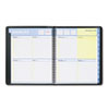 AT-A-GLANCE® QuickNotes Recycled Weekly/Monthly Appointment Book, Black, 8