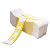 PM Company® Color-Coded Kraft Currency Straps, $10 Bill, $1000, Self-Adhesive, 1000/Pack