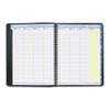 AT-A-GLANCE® QuickNotes Recycled Weekly/Monthly Appointment Book, Black, 8 1/4 x 10 7/8, 2013