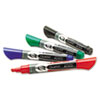EnduraGlide Dry Erase Markers, Chisel Tip, Assorted Colors, 4/Set