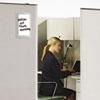 iQTotal Erase Board, 11 x 7, White, Translucent Frame