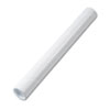 Quality Park™ Fiberboard Mailing Tube, Recessed End Plugs, 18 x 2, White, 25/Carton