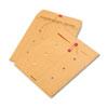 Quality Park™ Brown Kraft Kraft String & Button Interoffice Envelope, 10 x 13, 100/Carton