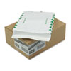 SURVIVOR Tyvek Expansion Mailer, First Class, 10 x 13 x 1 1/2, White, 18lb, 100/Carton