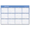 Visual Organizer® Vertical/Horizontal Erasable Wall Planner, 24