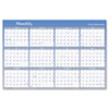 Visual Organizer® Vertical/Horizontal Erasable Wall Planner, 48