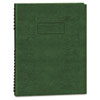Blueline® Exec Wirebound Notebook, College/Margin Rule, 8-1/2 x 11, GRN, 100 Sheets