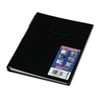 Blueline® NotePro Notebook, 10 3/4 x 8 1/2, White Paper, Black Cover, 150 Ruled Sheets