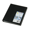 Blueline® NotePro Undated Daily Planner, 9-1/4 x 7-1/4, Black