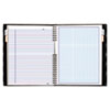 Blueline® NotePro Quad Ruled Notebook, 9-1/4 x 7-1/4, White, 96 Sheets