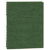 Blueline® Exec Wirebound Notebook, College/Margin Rule, 9-1/4 x 7-1/4, GRN, 75 Sheets