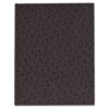 Blueline® Ostrich Exec Business Notebook, 7 1/4 x 9 1/4, 75 Sheets, College Ruled, Black