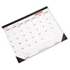 Brownline® Desk Pad Calendar, Chipboard, 22 x 17, 2016