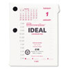 Brownline® Refill for C1S Daily Desk Calendar Pad Stand, 3-3/4 x 2-7/8, 2013