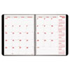 Brownline® PlannerPLUS 14-Month Monthly Planner, 11 x 8-1/2, Black, 2016