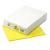 Pacon® Kaleidoscope Multipurpose Colored Paper, 24lb, 8-1/2 x 11, Lemon Yellow, 500/Rm