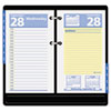 AT-A-GLANCE® QuickNotes Recycled Desk Calendar Refill, 3 1/2