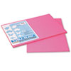 Pacon® Tru-Ray Construction Paper, 76 lbs., 12 x 18, Shocking Pink, 50 Sheets/Pack