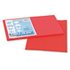 Pacon® Tru-Ray Construction Paper, 76 lbs., 12 x 18, Red, 50 Sheets/Pack