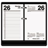 AT-A-GLANCE® Desk Calendar Refill, 3 1/2 x 6, White, 2015