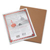 Riverside Construction Paper, 76 lbs., 9 x 12, Brown, 50 Sheets/Pack