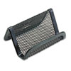 Rolodex™ Mesh Business Card Holder, Capacity 50 2 1/4 x 4 Cards, Black